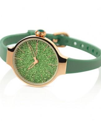 cherie glitter gold verde