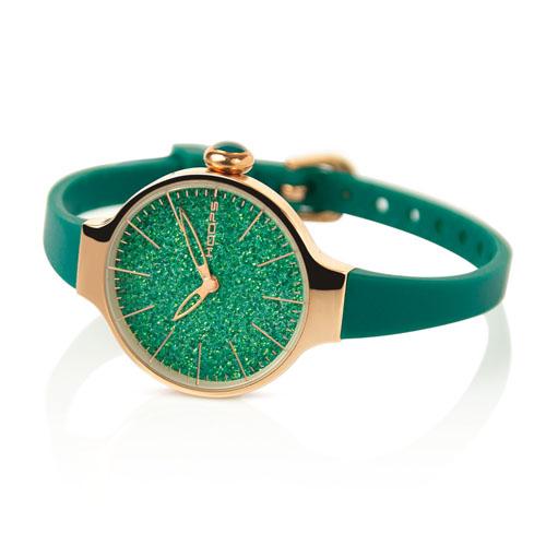 cherie glitter gold verde smeraldo