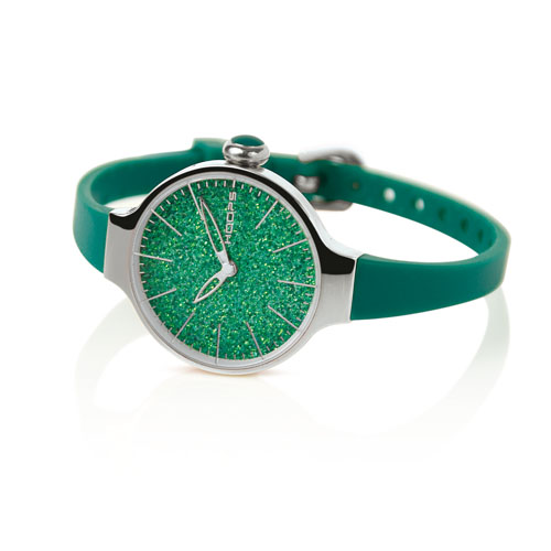 cherie glitter verde smeraldo