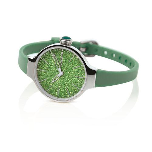 cherie glitter verde